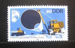 Poštovní známka DDR 1978 Konstrukce plynovodu Mi# 2368