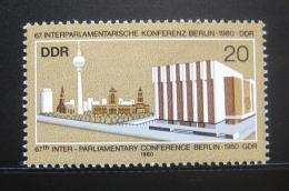 Poštovní známka DDR 1980 Palác republiky Mi# 2542