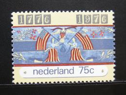Poštovní známka Nizozemí 1976 Americká revoluce Mi# 1076