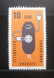 Poštovní známka DDR 1981 Šetøení energiemi Mi# 2601