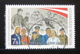 Poštovní známka Rakousko 2001 Služebníci veøejnosti Mi# 2361