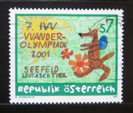 Poštovní známka Rakousko 2001 Turistická olympiáda Mi# 2349