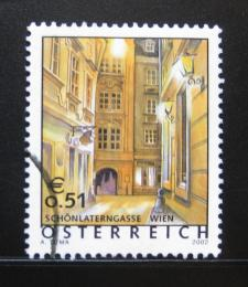 Poštovní známka Rakousko 2002 Schönlaterngasse,Vídeò Mi# 2363