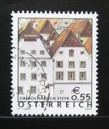 Poštovní známka Rakousko 2003 Domy, Steyer Mi# 2415