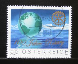 Poštovní známka Rakousko 2005 Rotary International Mi# 2517