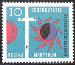 Poštovní známka Nìmecko 1963 Køíž Golgoty Mi# 397