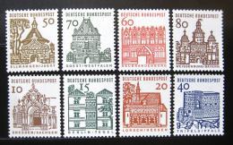 Poštovní známky Nìmecko 1964-65 Budovy z 12. stol. Mi# 454-61