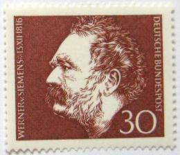 Poštovní známka Nìmecko 1966 Werner von Siemens Mi# 528