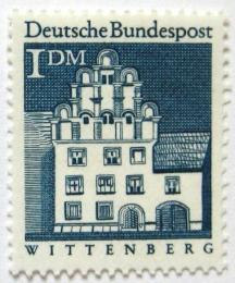 Poštovní známka Nìmecko 1966 Dùm Melanchthon, Wittenberg Mi# 500