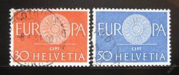 Poštovní známky Švýcarsko 1960 Evropa CEPT Mi# 720-21