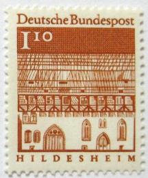 Poštovní známka Nìmecko 1966 Nemocnice, Hildesheim Mi# 501