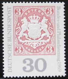 Poštovní známka Nìmecko 1969 Bavorský znak Mi# 601