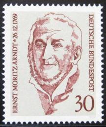 Poštovní známka Nìmecko 1969 Ernst Moritz Arndt, básník Mi# 611