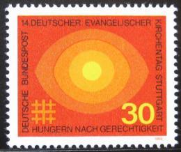 Poštovní známka Nìmecko 1969 Setkání nìmeckých protestantù Mi# 595