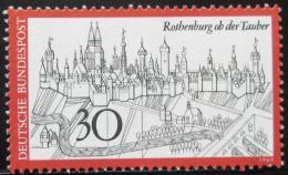 Poštovní známka Nìmecko 1969 Rothenburg ob der Tauber Mi# 603