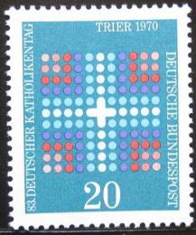 Poštovní známka Nìmecko 1970 Den katolíkù Mi# 648