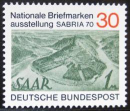 Poštovní známka Nìmecko 1970 Výstava SABRIA Mi# 619