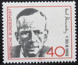 Poštovní známka Nìmecko 1972 Kurt Schumacher, politik Mi# 738