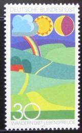 Poštovní známka Nìmecko 1974 Turistika Mi# 808