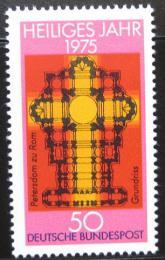 Poštovní známka Nìmecko 1975 Svatý rok Mi# 834