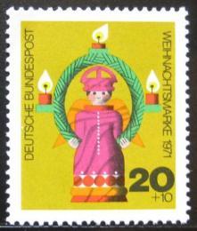 Poštovní známka Nìmecko 1971 Vánoce Mi# 709