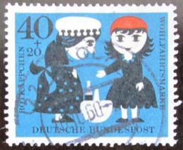 Poštovní známka Nìmecko 1960 Èervená karkulka Mi# 343 Kat 5€