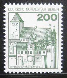 Poštovní známka Západní Berlín 1977 Hrad Burrershein Mi# 540