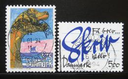 Poštovní známky Dánsko 1993 Rùzná témata Mi# 1061-62