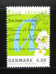 Poštovní známka Dánsko 2001 Evropský rok jazykù Mi# 1271