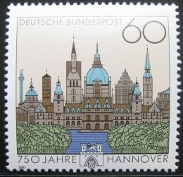 Poštovní známka Nìmecko 1991 Hanover, 750. výroèí Mi# 1491