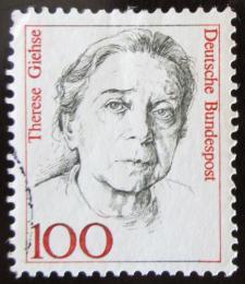 Poštovní známka Nìmecko 1988 Therese Giehse Mi# 1390