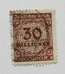Poštovní známka Nìmecko 1923 Nominální hodnota Mi# 320 Kat 12€