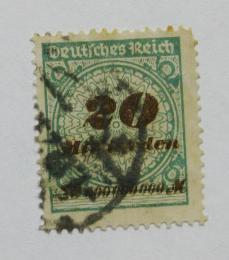 Poštovní známka Nìmecko 1923 Nominální hodnota Mi# 329