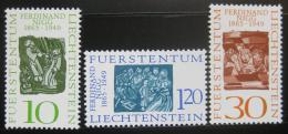 Poštovní známky Lichtenštejnsko 1965 Umìní, Nigg Mi# 455-57
