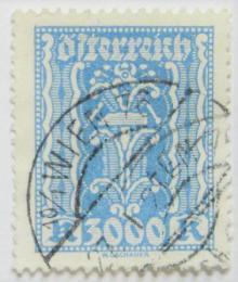 Poštovní známka Rakousko 1923 Symbol práce Mi# 396