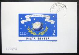 Poštovní známka Rumunsko 1964 Lety do vesmíru Mi# Block 56 Kat 10€