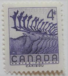 Poštovní známka Kanada 1956 Caribou Mi# 299