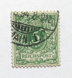 Poštovní známka Nìmecko 1889 Nominální hodnota Mi# 46