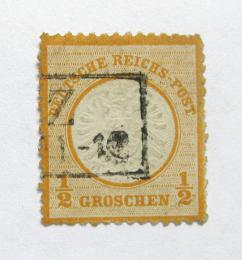 Poštovní známka Nìmecko 1872 Øíšský orel Mi# 14 Kat 65