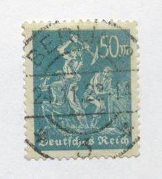 Poštovní známka Nìmecko 1923 Horníci Mi# 245 Kat 150€