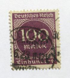 Poštovní známka Nìmecko 1923 Nominální hodnota Mi# 268