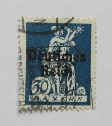 Poštovní známka Nìmecko 1920 Sklizeò, pøetisk Mi# 123