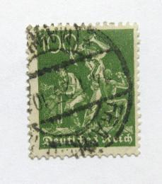 Poštovní známka Nìmecko 1922 Práce s železem Mi# 187