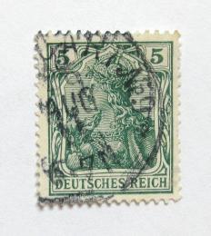Poštovní známka Nìmecko 1905 Germania Mi# 85 I