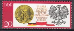 Poštovní známka DDR 1970 Státní symboly Mi# 1591