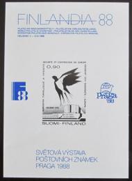 Vinìta Finsko 1988 Výstavy poštovních známek