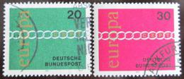 Poštovní známky Nìmecko 1971 Evropa CEPT Mi# 675-76