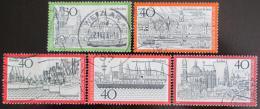 Poštovní známky Nìmecko 1973 Mìsta Mi# 761-62,787-89