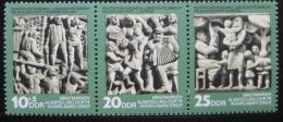 Poštovní známky DDR 1974 Filatelistická výstava Mi# 1988-90