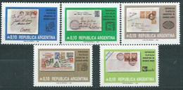 Poštovní známky Argentina 1985 Výstava ARGENTINA Mi# 1758-62